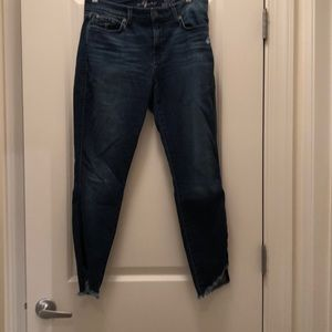 7 For All Mankind 'The Ankle' Skinny Jeans